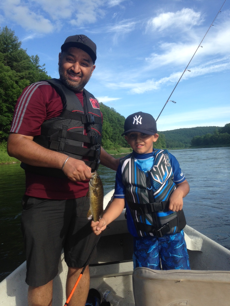 6/13/15 A great day for soft plastic smallmouth bass fishing!