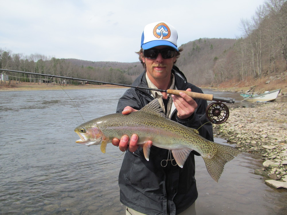 3/31/16 First dry fly Rainbow of the 2016 Season!
