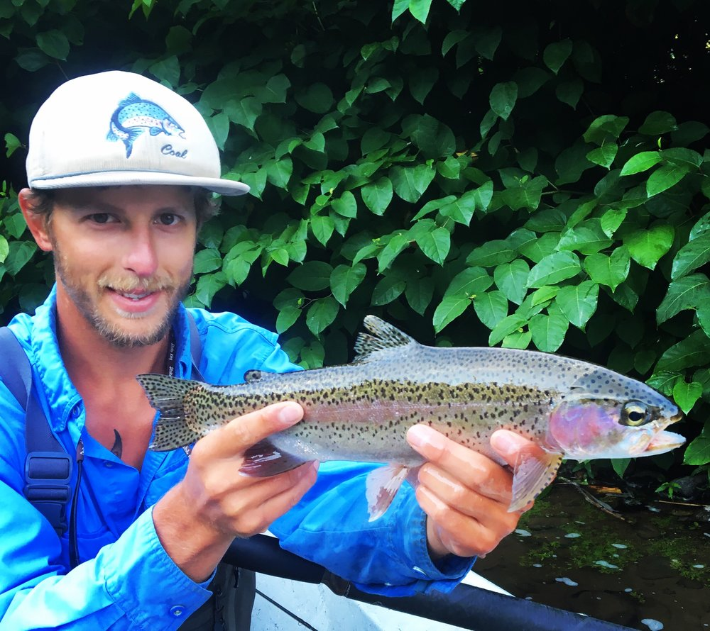 Summer trout fishing remained consistently good.