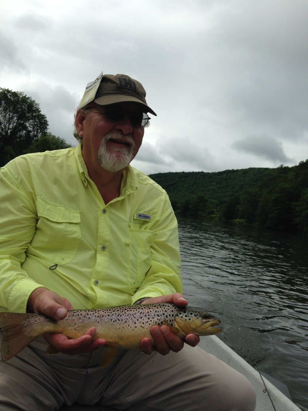 Steve P. caught a lot of trout on this day!  Nice fish!