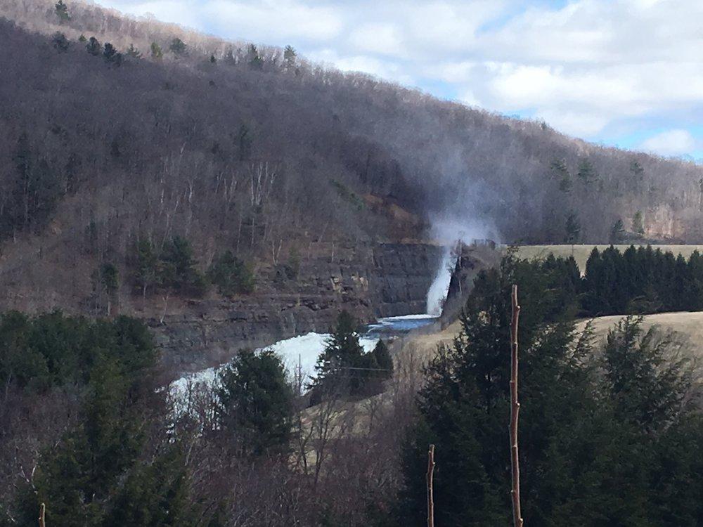 Cannonsville Reservoir Spillway