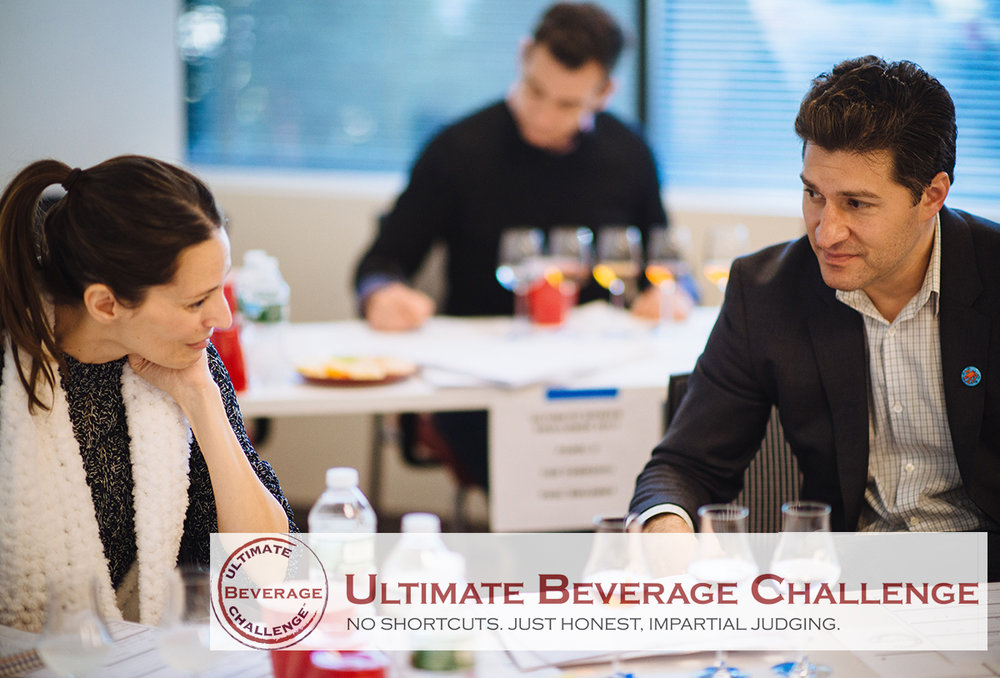 May 2017    Ultimate Beverage Challenge 2017 judging