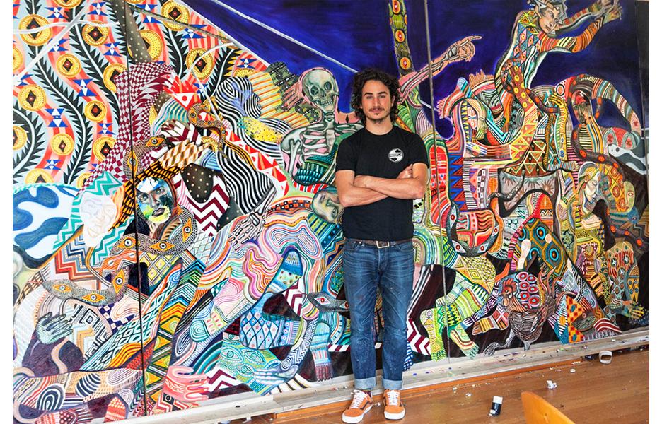 Culture Club:  Zio Ziegler interview