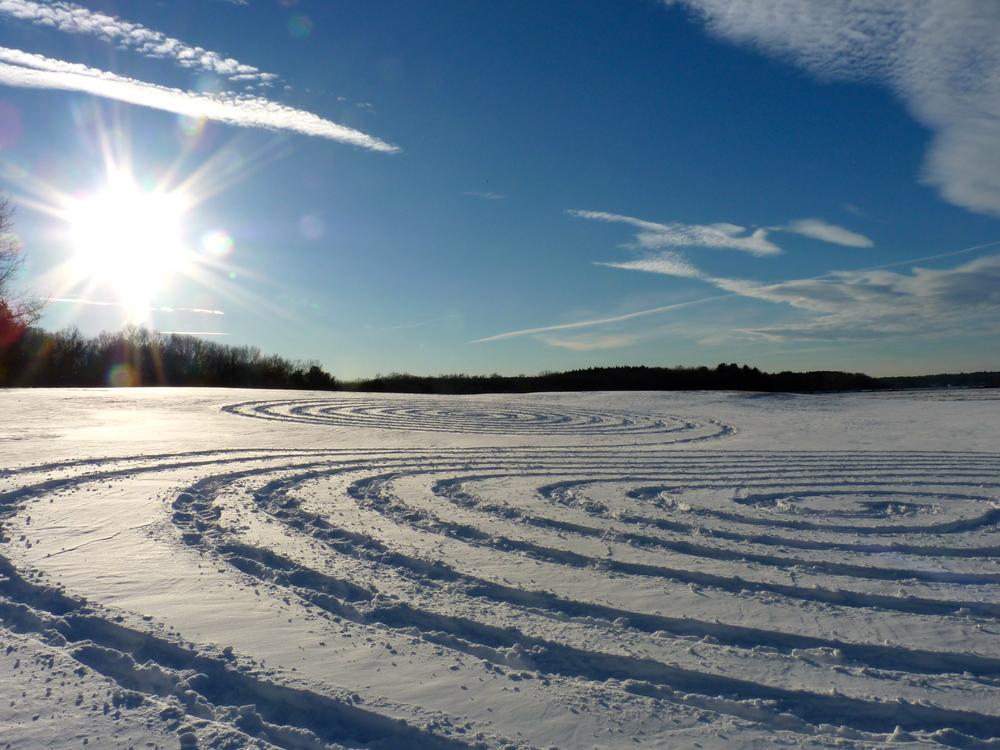 Snow Spirals
