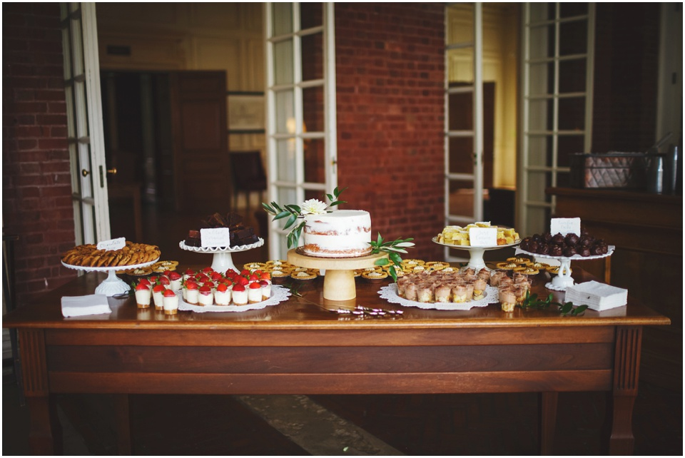 Photograph by Rachael Schiriano. Desserts by Hopscotch