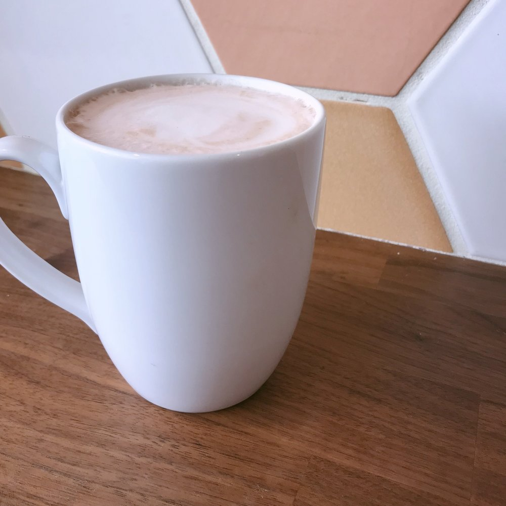 Rosemary Beet Latte