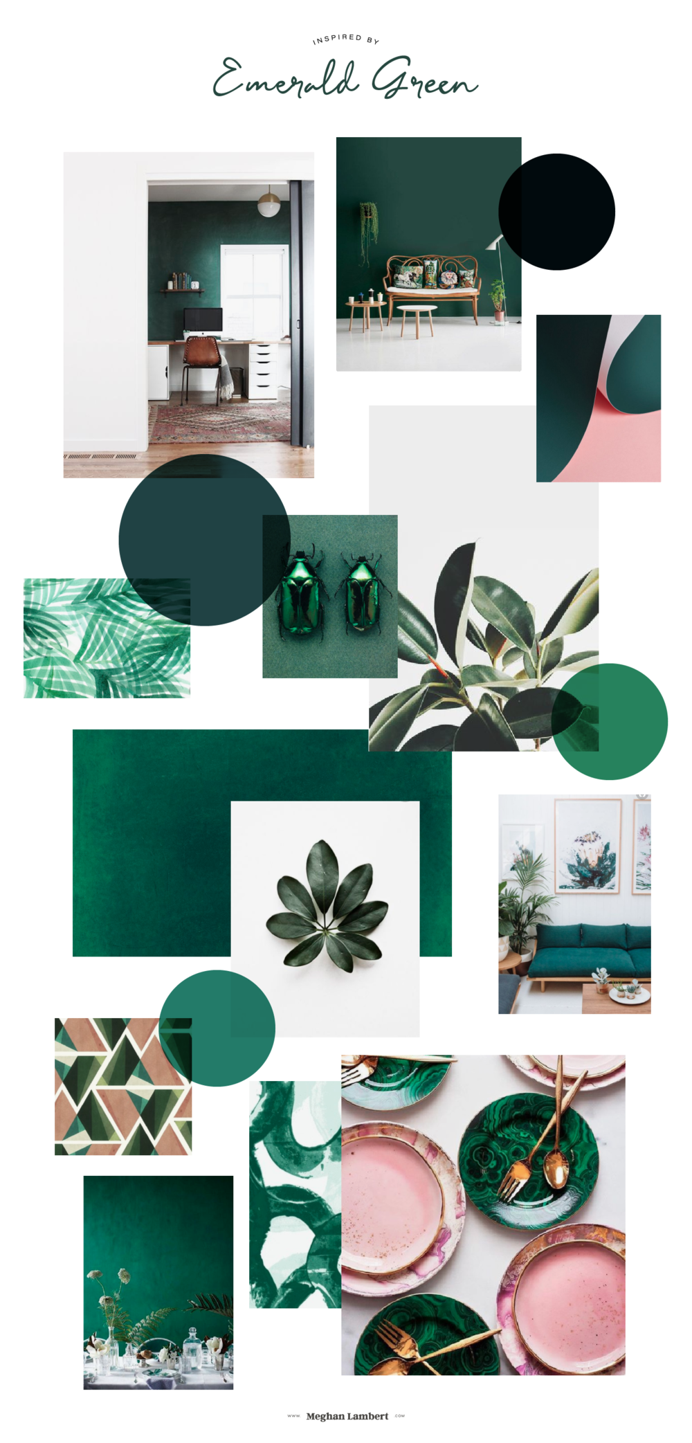 Inspired by Emerald Green from MeghanLambert.com