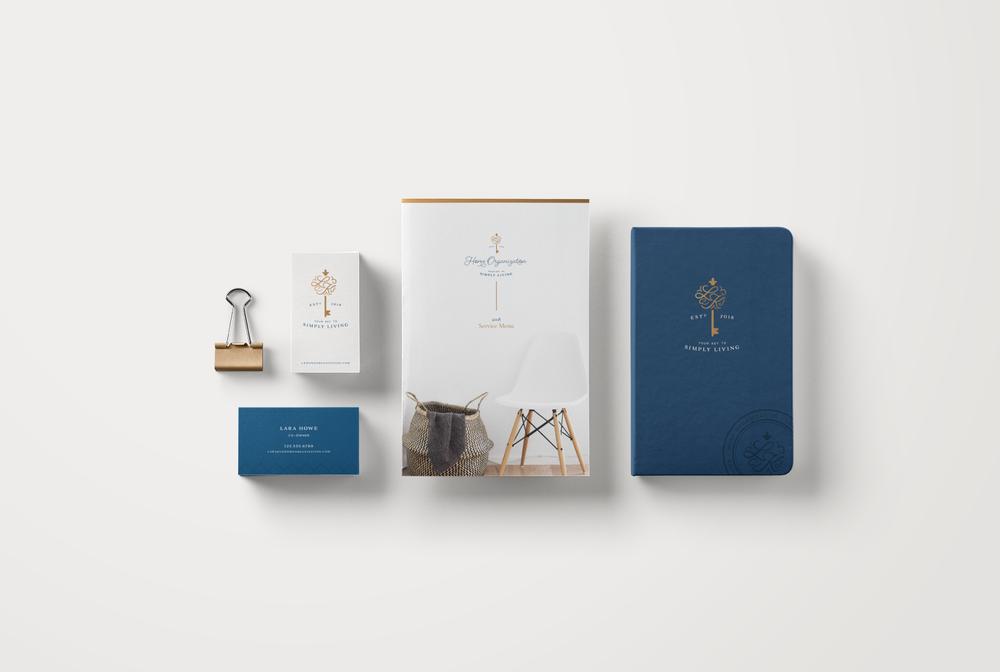 L+K Home Organization Brand Materials