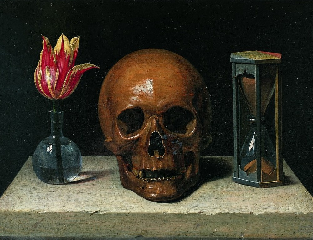 Life, death and time: Vanit é , by Philippe de Champaigne