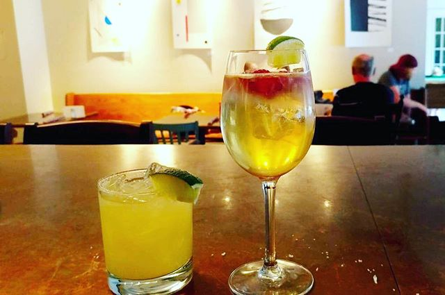 Nothing says summer like margaritas and sangria! It's FRIDAY and we are serving up these yummy beverages, grilled pizzas and lots more.  #TGIF  #millstreetcafe #desertlakegardens #localfood #eatlocal #supportlocal #infrontenac #sydenham