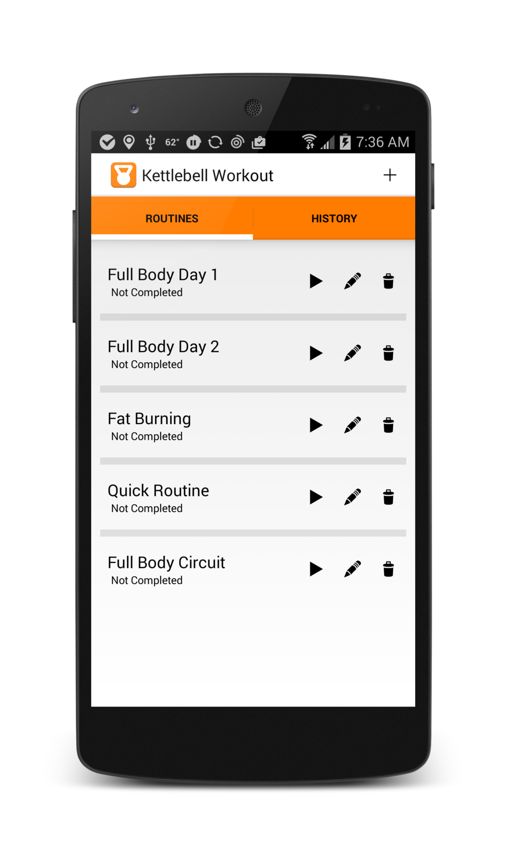 The full featured kettlebell workout app.