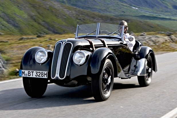 Delightful In 1936, BMW Produced Their First 328 Sports Car.