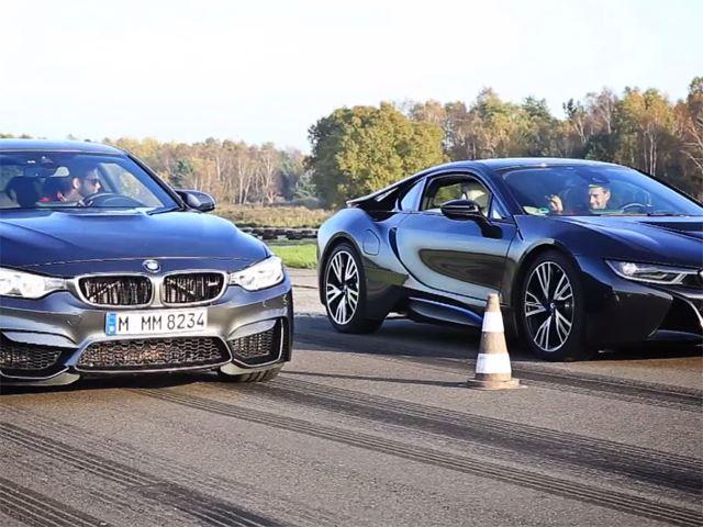 Top Gear Bmw I8 Vs Bmw M3 Bimmer America Llc
