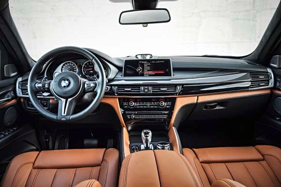 2015-bmw-x6-m-long-beach-blue- interior 2 Bimmer America.jpg
