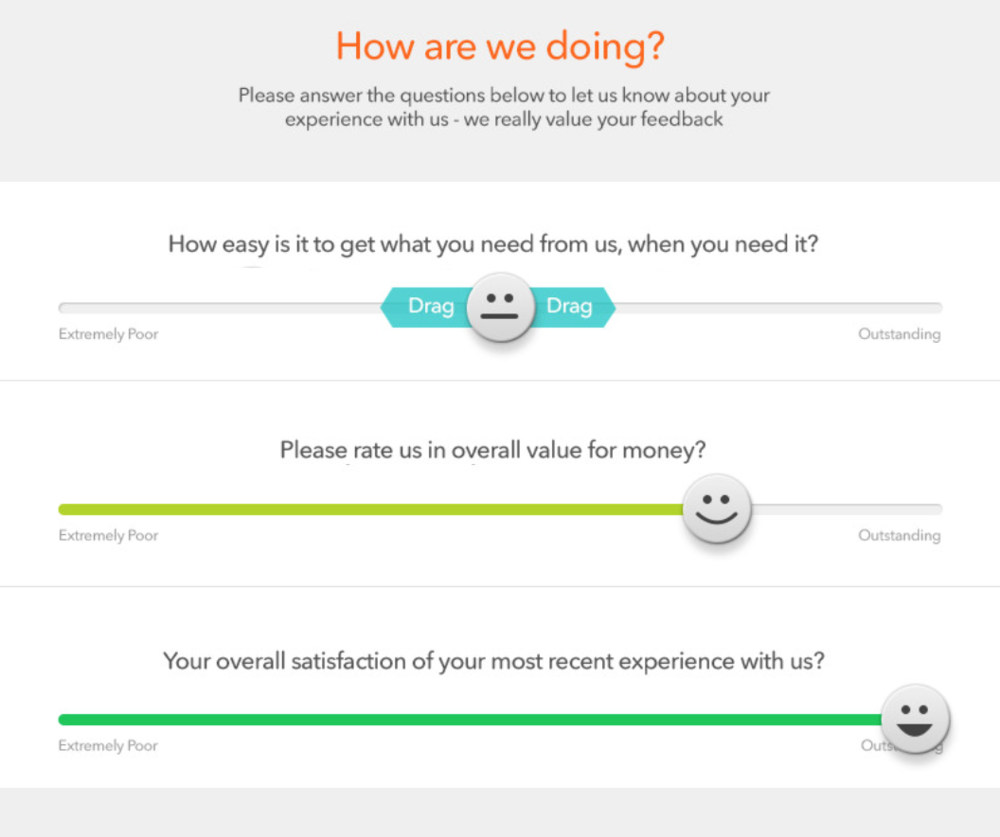 Email Survey: What your customers receive from you