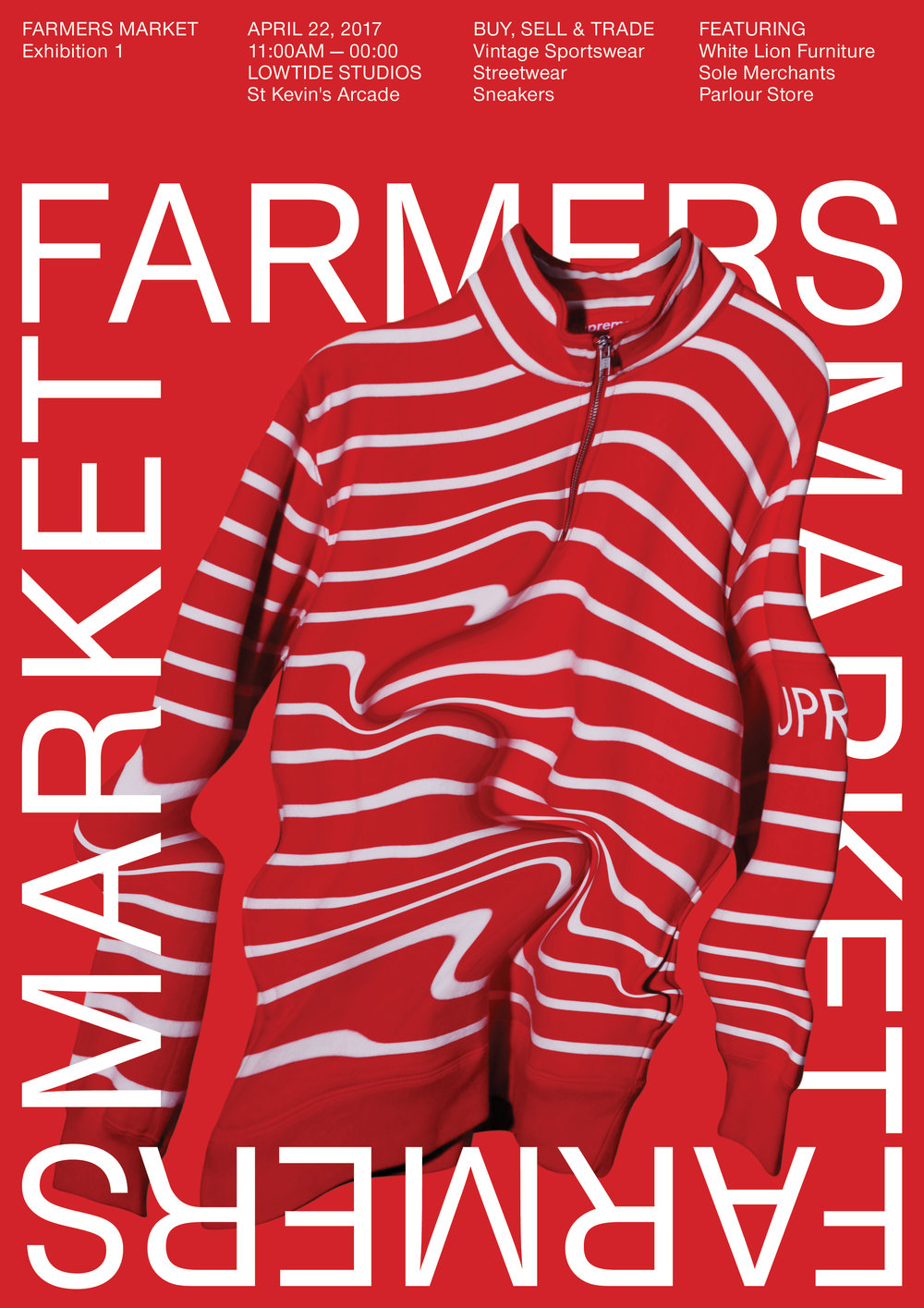 Above: Poster work for Farmers Market (St Kevin's)