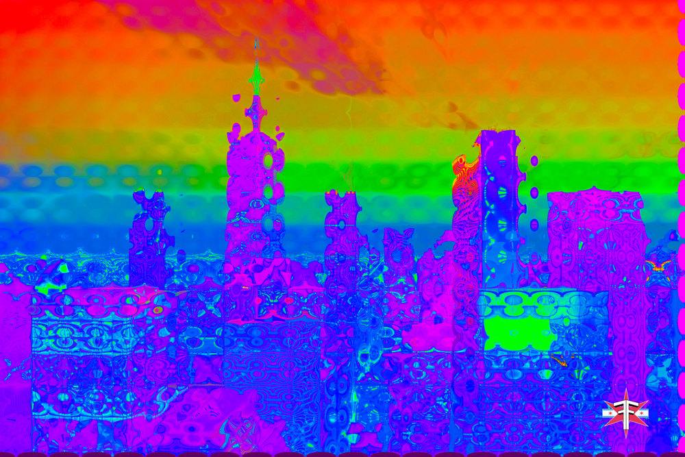 chicago downtown loop sears tower hancock buildings towers trippy vibrant colors abstract skyline cityscape eric formato formatografia fotografia arte photography color photography fine art design-19.jpg