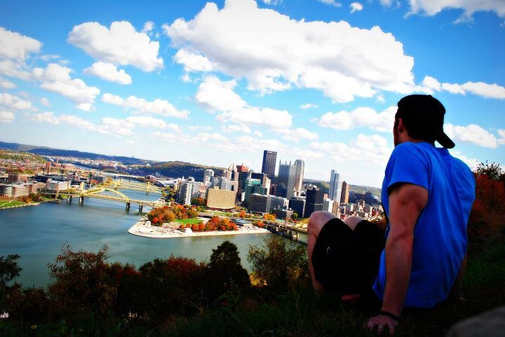 This is where it all started, my college city of Pittsburgh, where I started to See Myself in a New Way