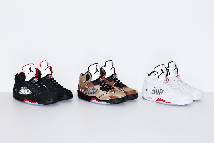 wholesale dealer e549c d79ae Supreme and Air Jordan is an imperial collaboration. Both brands credit the  golden era of popular culture, the 1990s, for their success and the history  that ...