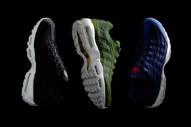 on sale 87b9f be5ad Lauded as streetwear legend, Stussy celebrates 35 years of existence with a Nike  Air Max 95 collaboration. The California brand and the Swoosh deliver a ...