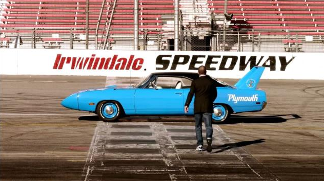 Jerry Seinfeld and Richard Petty's 1970 Plymouth Road Runner