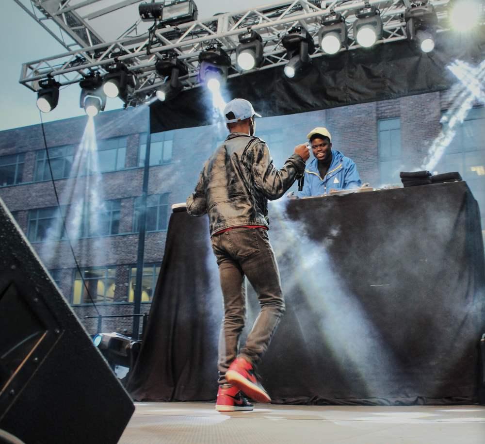 Gold Link and DJ Kidd Marvel at GW Spring Fling