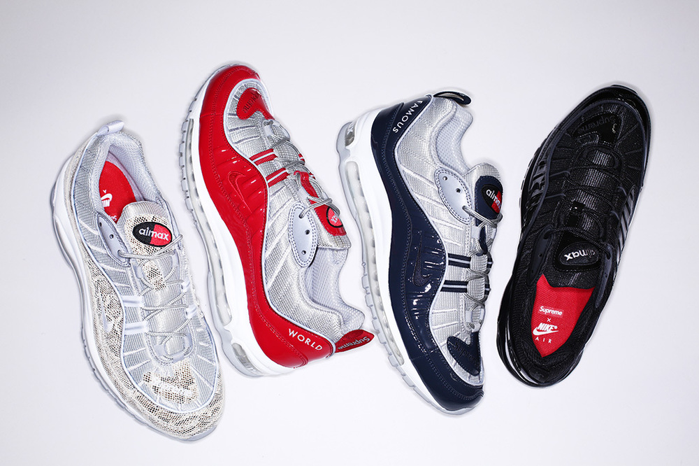 c0ca1928 Details on Supreme x Nike Air Max 98 Collection Release — Life's Goods