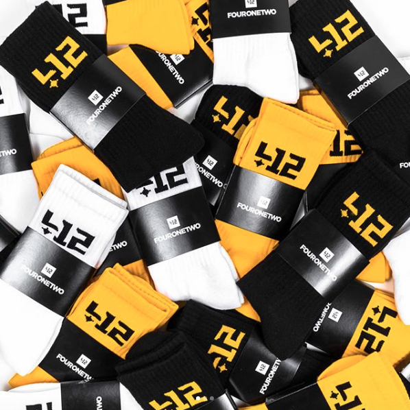 Shop412 socks via  @shop412's  Instagram