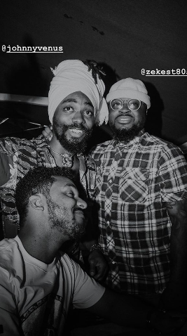 (left to right) Christo, Johnny Venus of Earthgang and Zeke