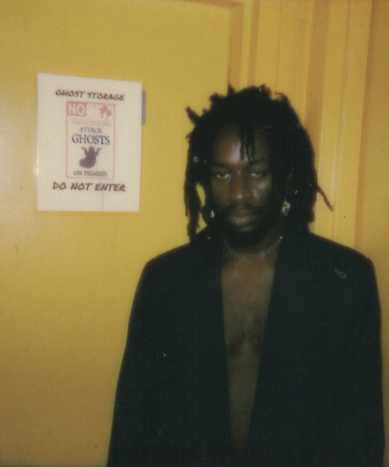 Sir E.U  | Polaroid by Maxwell Young