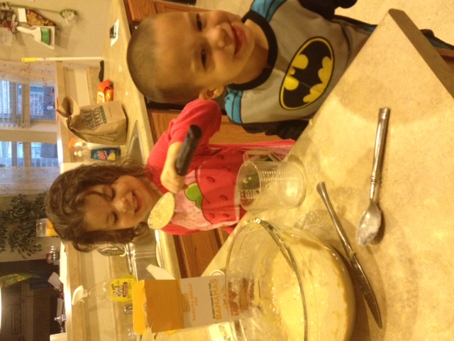 Emma and Parker making Banana bread 10-14.JPG