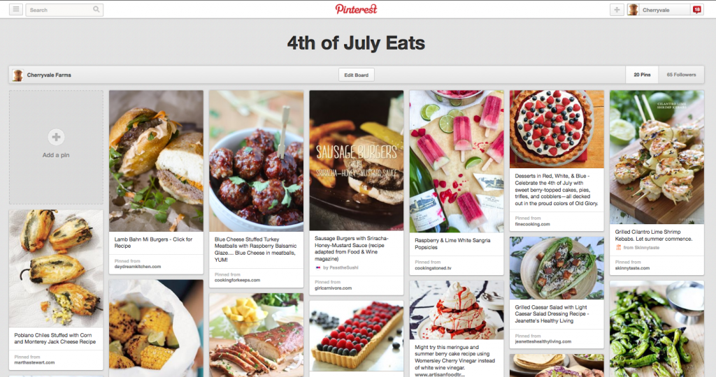 http://pinterest.com/cherryvalefarms/4th-of-july-eats/