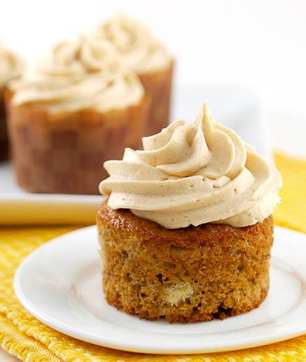 Banana-Cupcakes