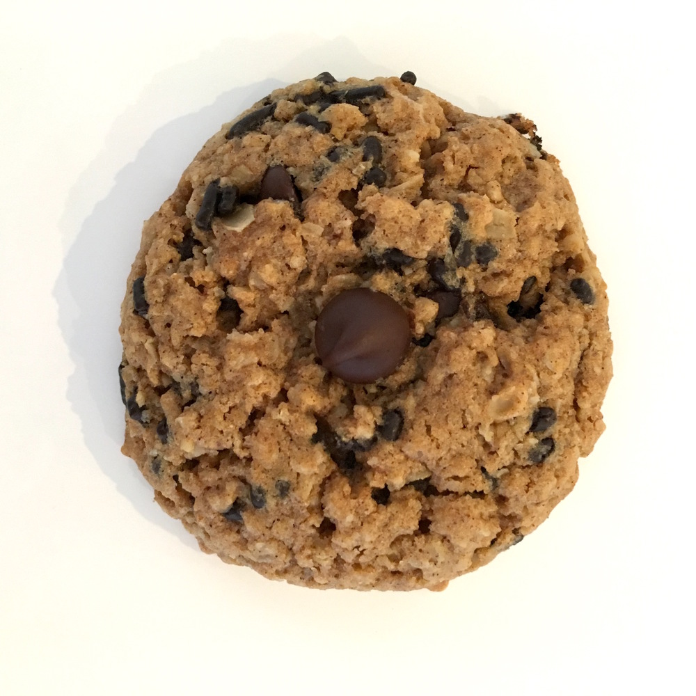 single oatmeal cookie with choc sprinkles.jpg
