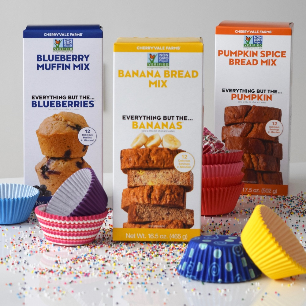 Use cute cupcake liners to transform any of our muffin or bread mixes into single-serve treats