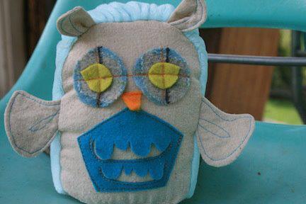 Handmade Cutie Owl at Bee Wise Goods