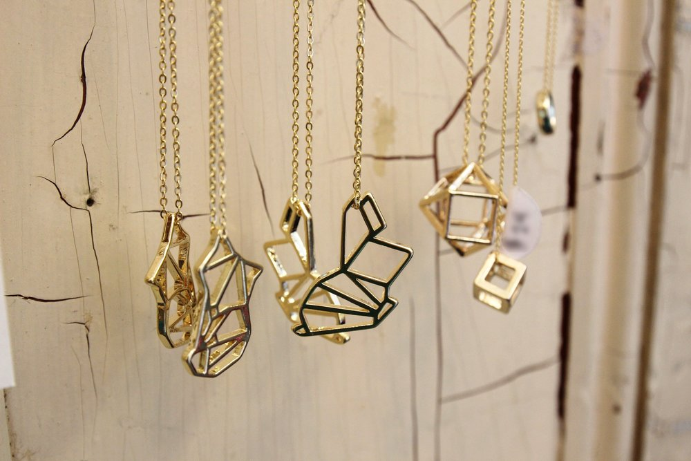 Bee Wise Goods Geometric Jewelry
