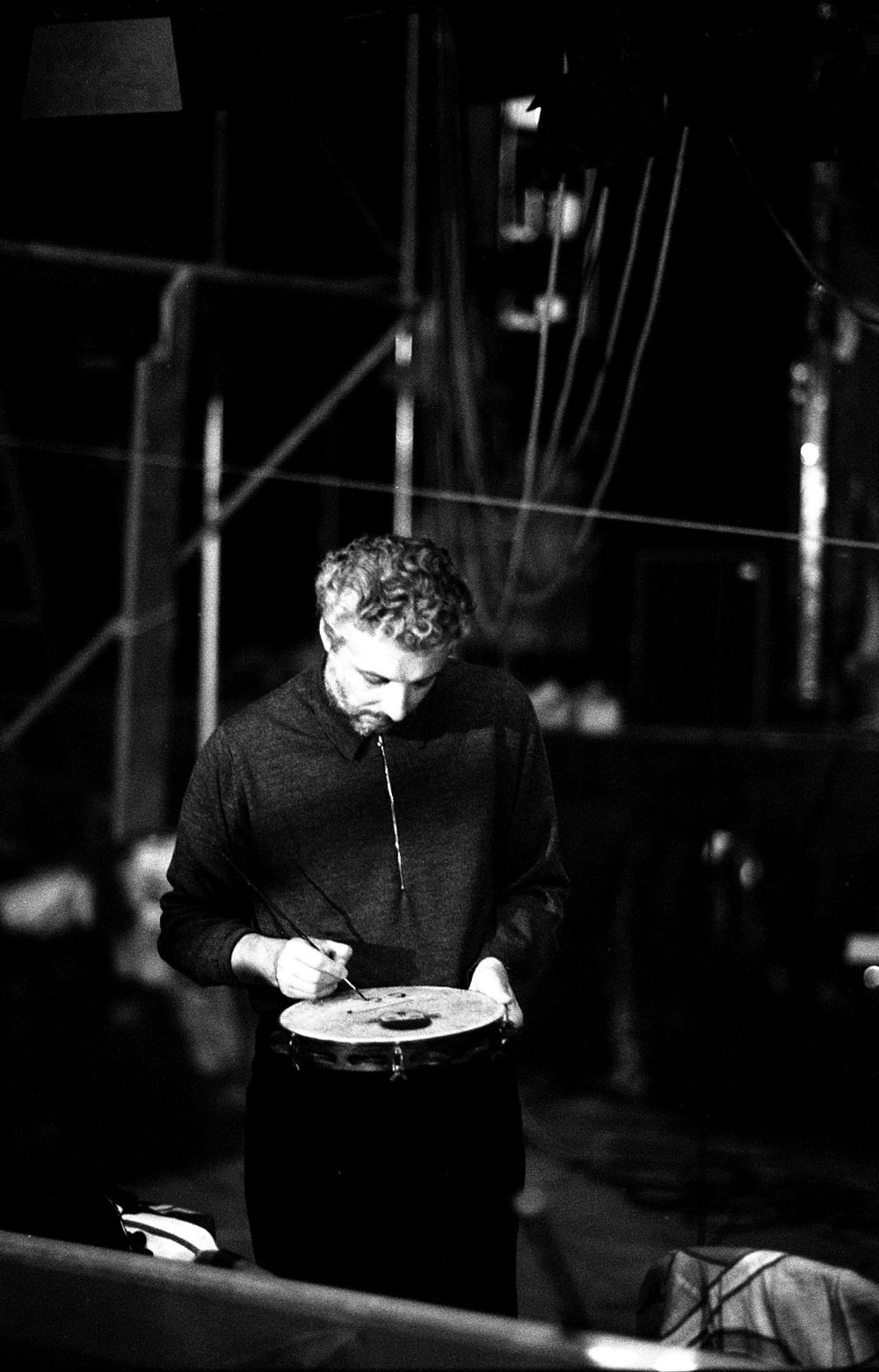 Andre Heller, Impresario and Musician. Berlin 1993