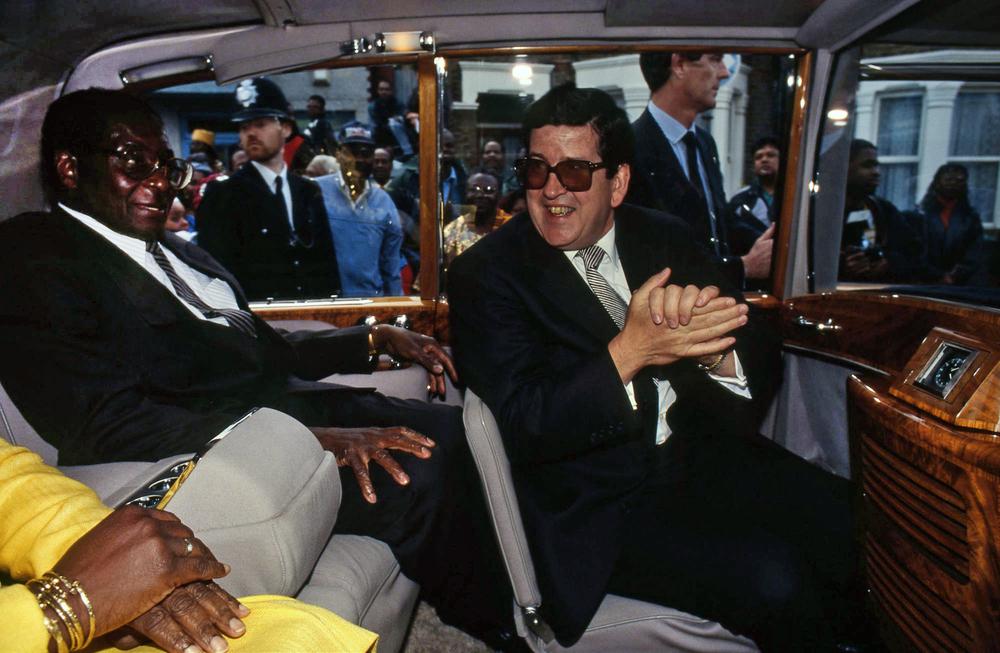 Robert Mugabe. President of Zimbabwe, London 1994