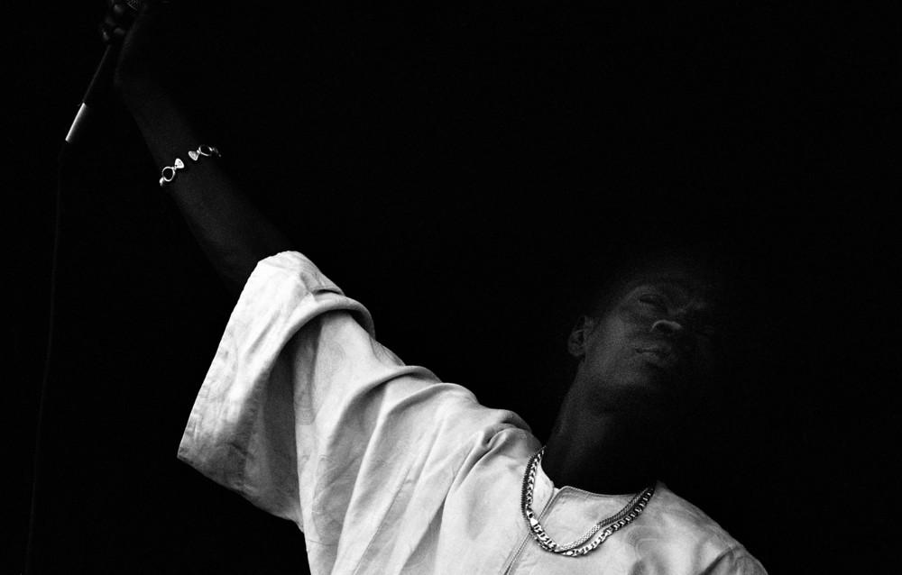 Baaba Maal. Musician, New Orleans 1999