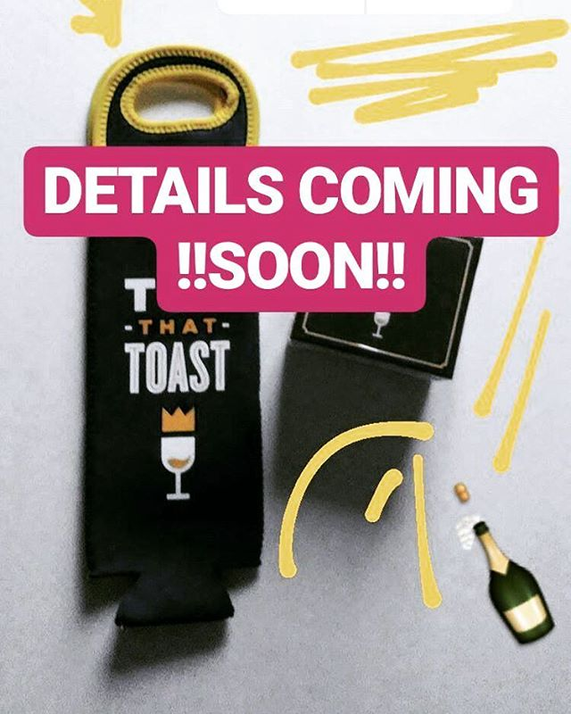 It's pretty much🍼season & we're thinking it'd be fun to give out some #TopThatToast wine totes to keep your 🍷🍹🍺🍶 safe and sound. Details soon...