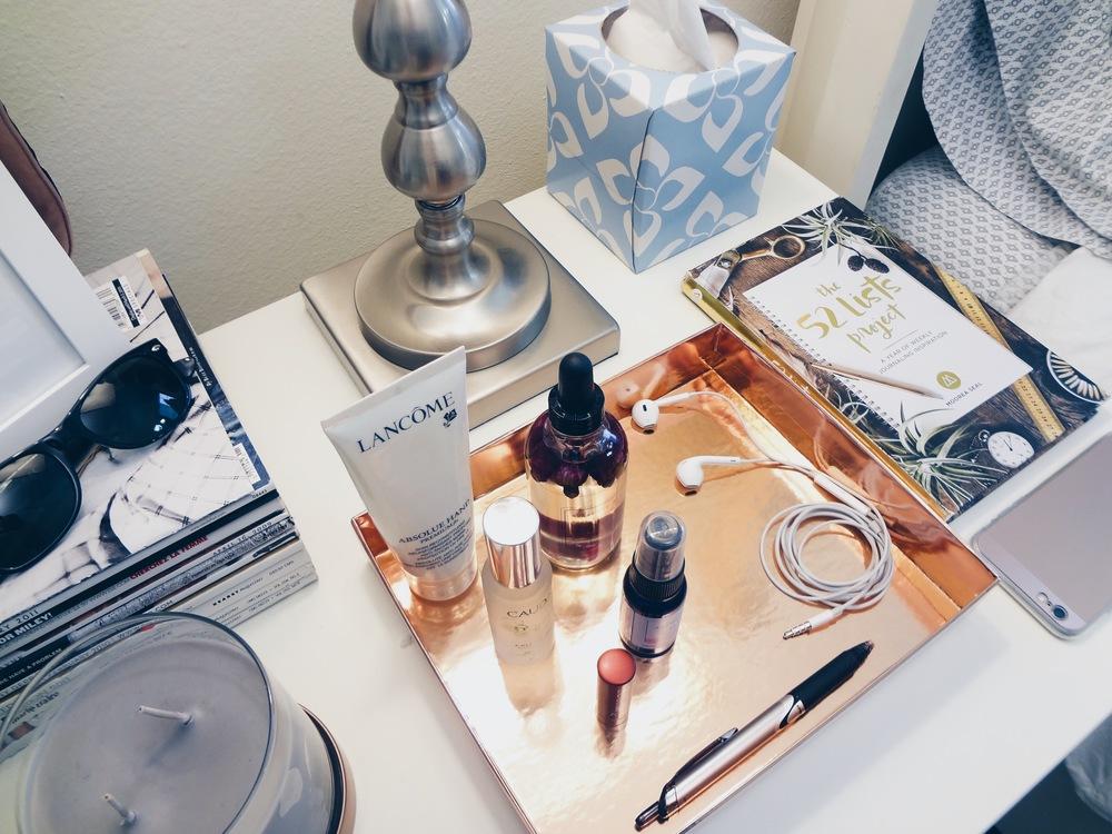 Bedside Essentials | Blush + Soul