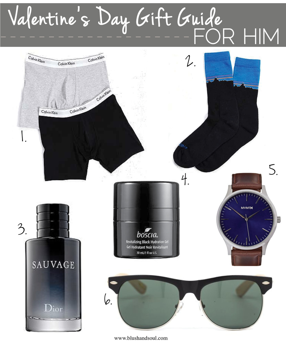 Valentine's Day Gift Guide For Him || Blush + Soul