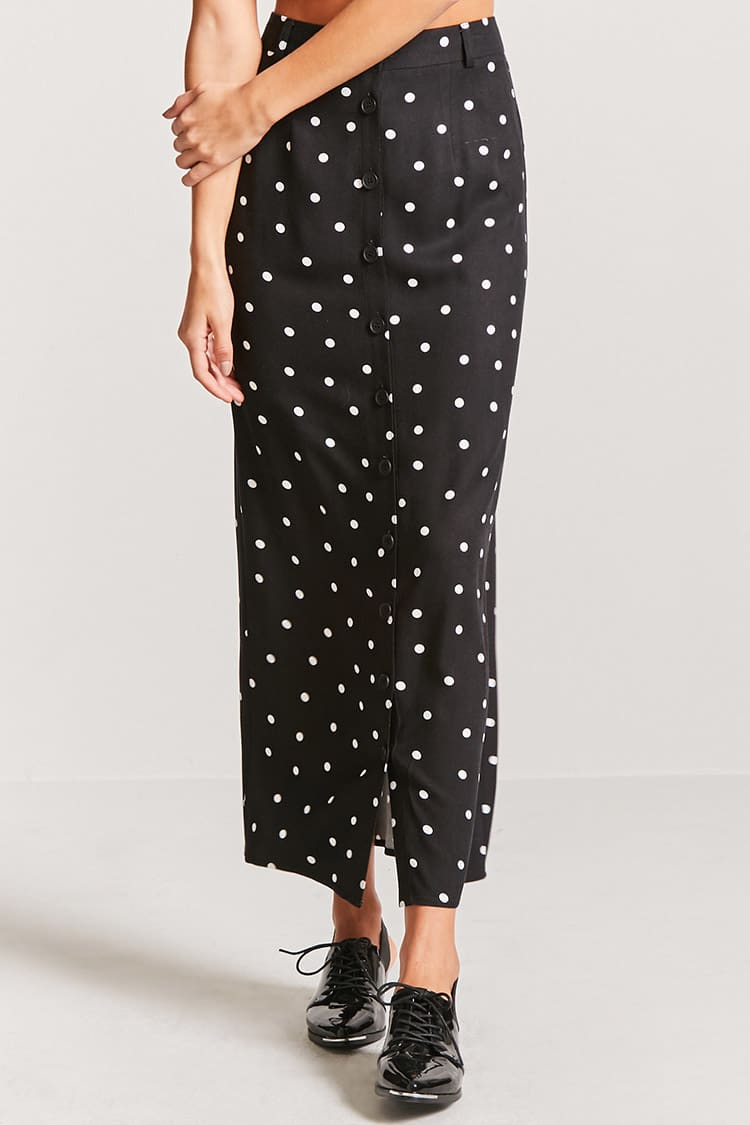 spotted maxi - f21 skirt.jpg