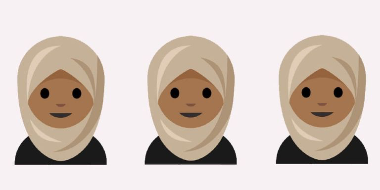 Hijab Emoji design by Aphee Messer.