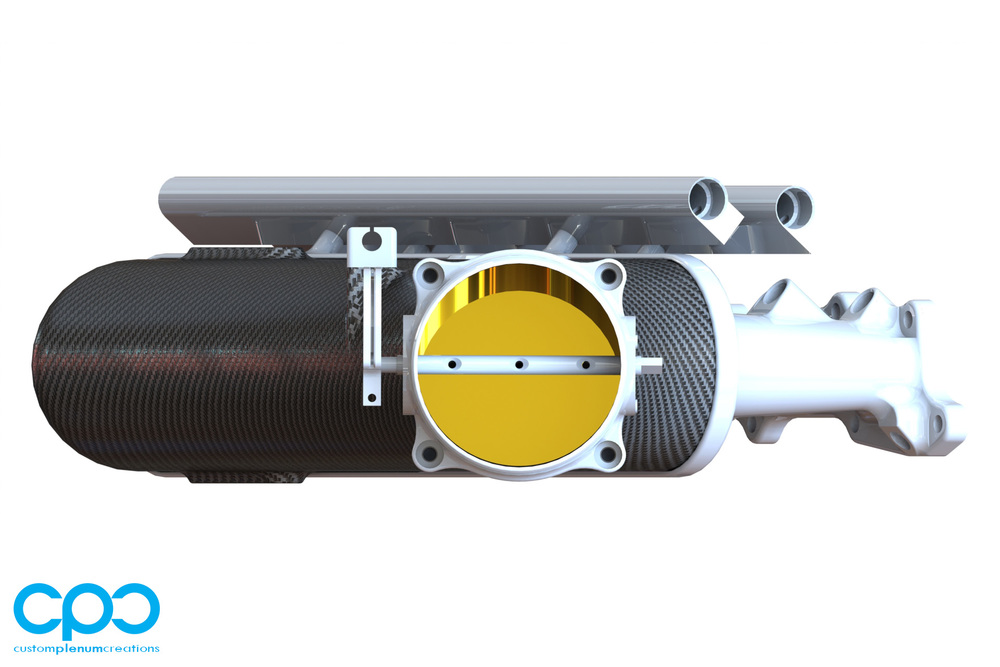 CPC Carbon Fibre RB26 Intake IMCC