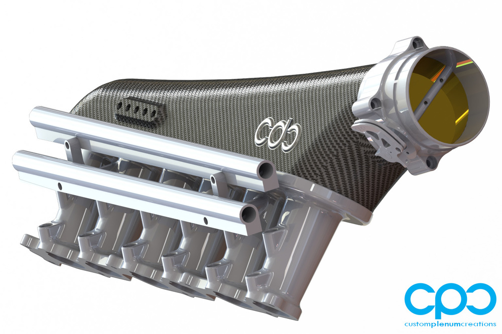 CPC Carbon Fibre 2JZ RB26 Intake IMCC