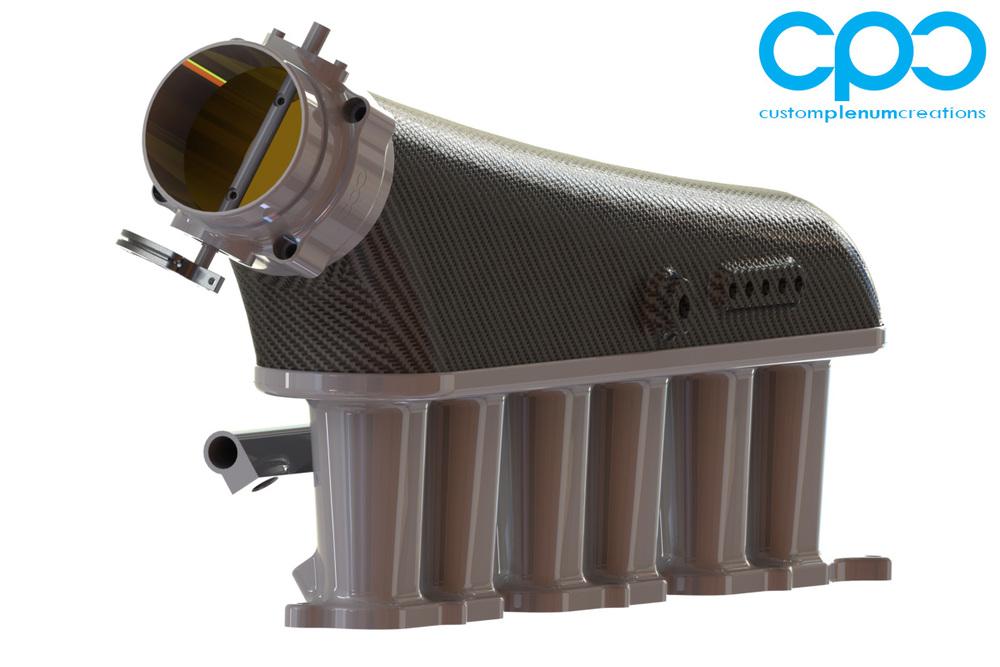 CPC Carbon Fibre 2JZ RB26 Intake IMCC _3