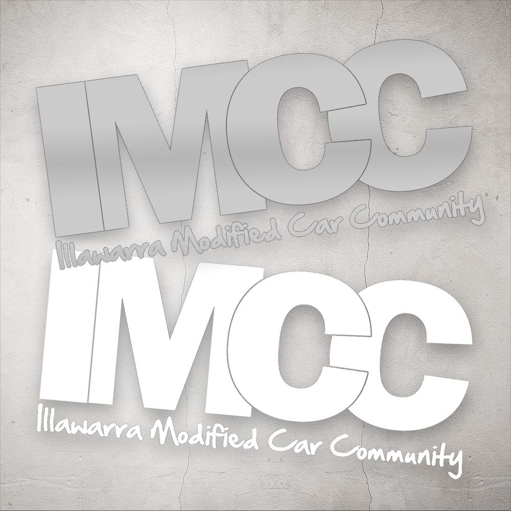 . IMCC Logo Decal