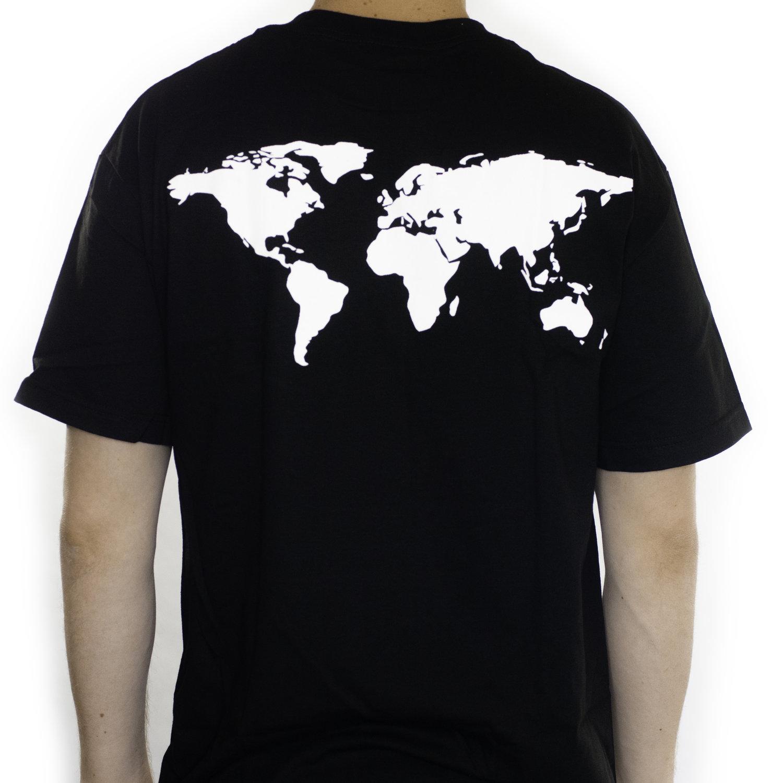 World Map Tee Unisex The Aslan Network